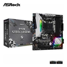Bc ec Motherboard Asrock B450m Steel Legend Am4 Ddr4 3533 Oc