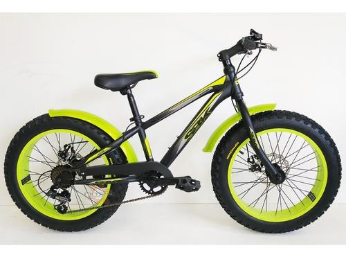 bcicicleta para niños rodado 20 sbk fat