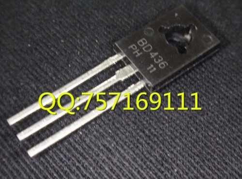bd436 to-126 complementary silicon power transistors