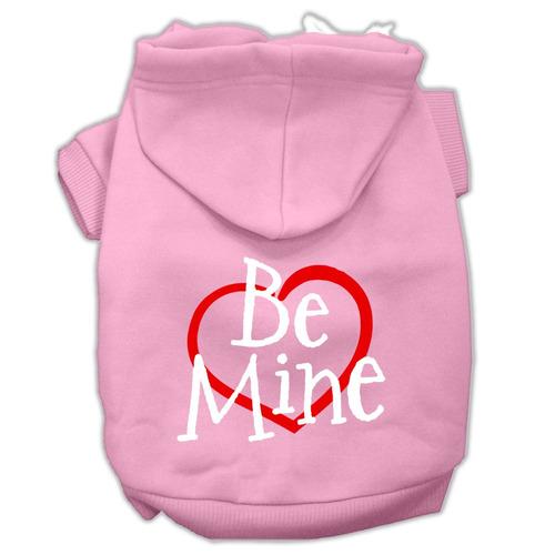 be mina pantalla impresión sudaderas con capucha pet rosa l