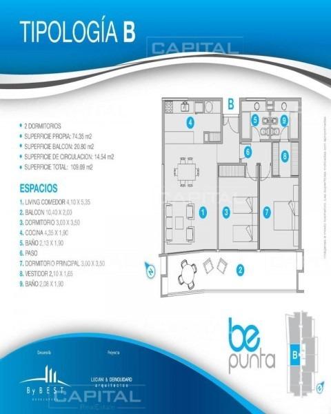 be punta apartamento en venta-ref:25239