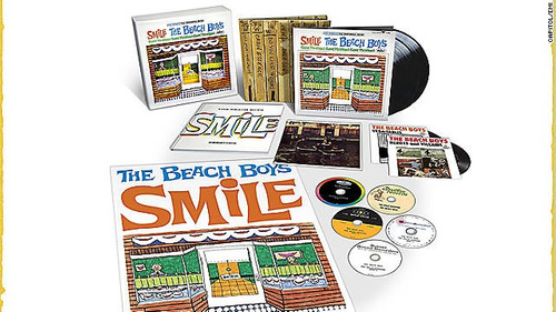 beach boys smile edición de lujo 5cd + doble lp + sencillos