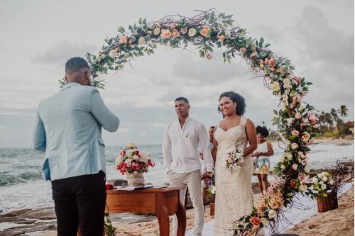 beach wedding - cerimônia de casamento na praia