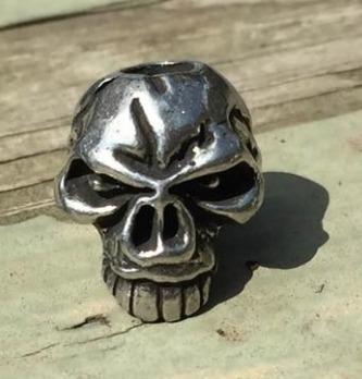 bead emerson skull jumbo 100% original made in u.s.a !!!