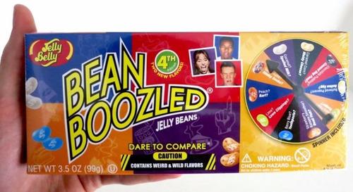 bean boozled 3a edicion juego de ruleta 99gr grageas reto