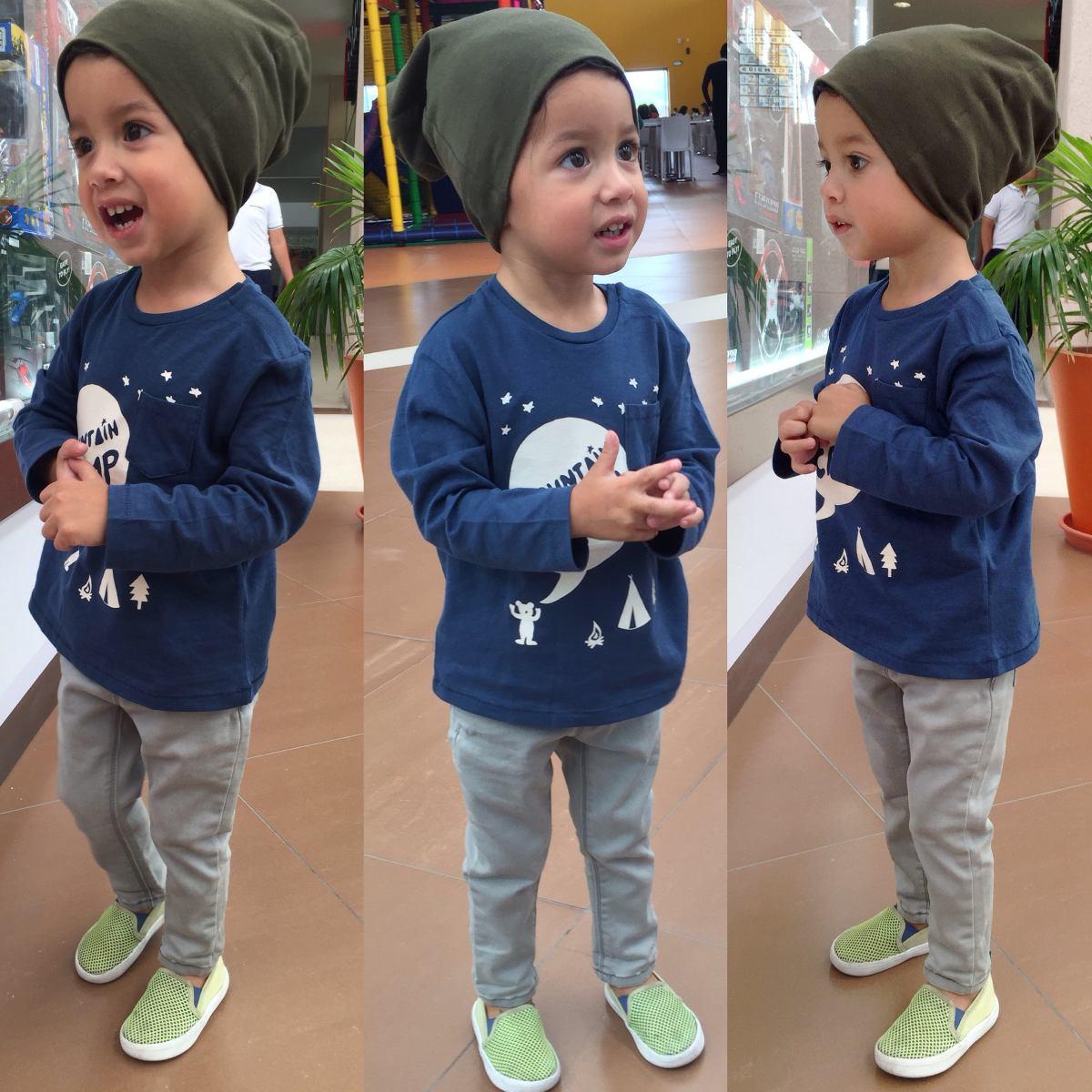 Beanie (gorro Holgado) Para Bebés Y Niño (sombrero da3d44c0c8a