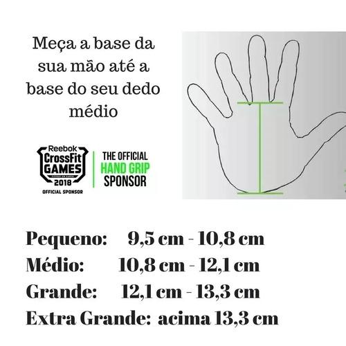 bear komplex hand grip crossfit games - carbono - 2 holes