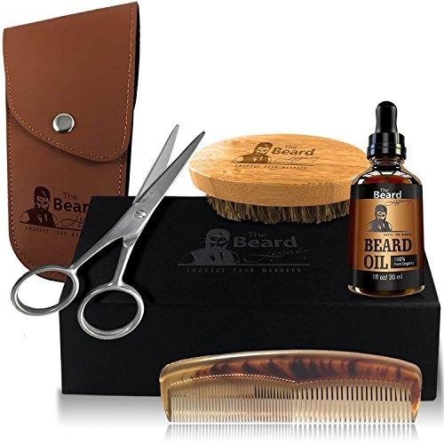 beard grooming trimming kit de crecimiento bolsa caja de re