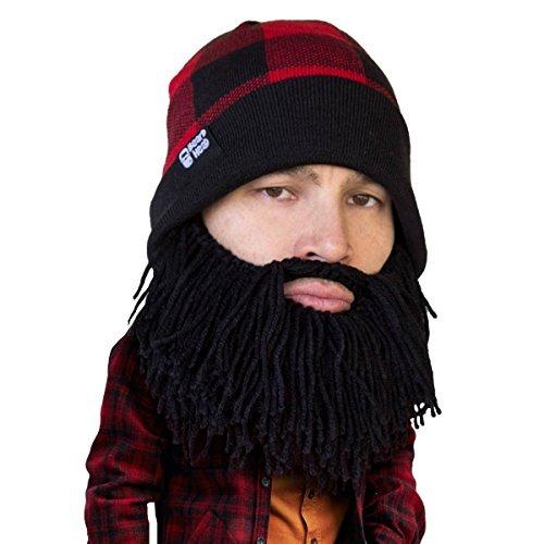Beard Head Plaid Leñador Beard Beanie - Sombrero De Punto -   169.777 en  Mercado Libre 0e363f2675b