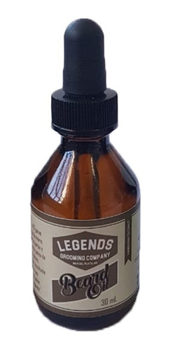 beard oil - aceite para barba legends x 30 ml x 12 unidades