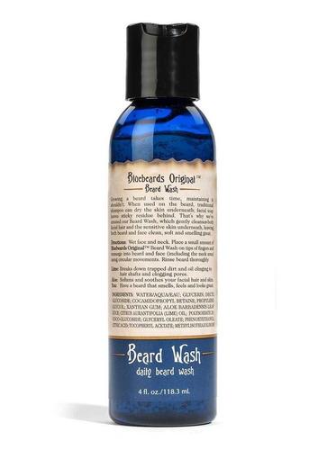 beard wash - bluebeards original