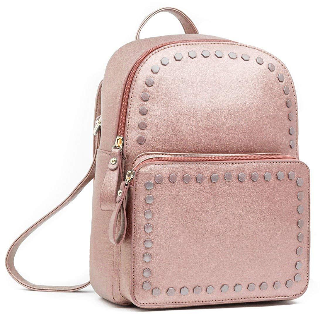784a3944a68 beariky cuero mochila para mujeres - elegante moda cuadrado. Cargando zoom.