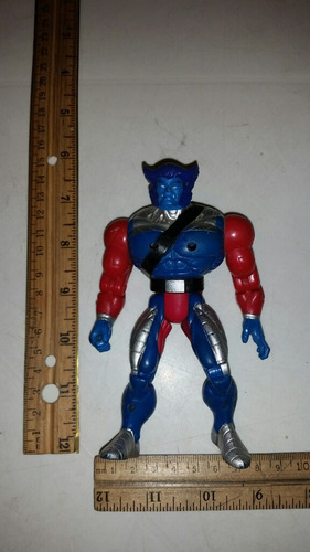 beast marvel toy biz heavy metal 1992