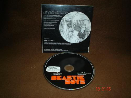 beastie boys - cd single - ch-check it out daa
