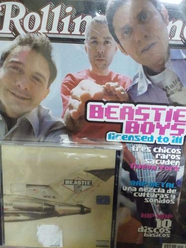 beastie boys license to ill cd original + rev rolling stone