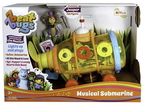 beat bugs  netflix- yellow submarine musical incluye a jaspe