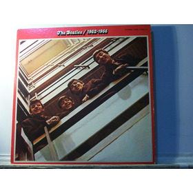Beatles, 1962-1966, Lp Duplo Imp Japão Encarte Livreto Raro