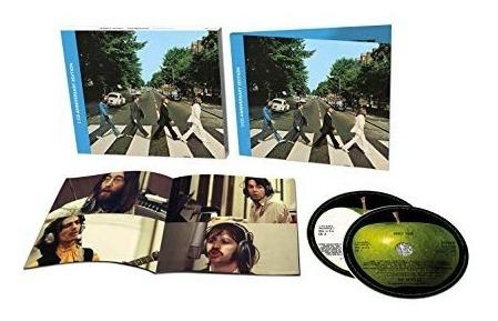 beatles abbey road 50th anniversary deluxe 2 cd nuevo 2019