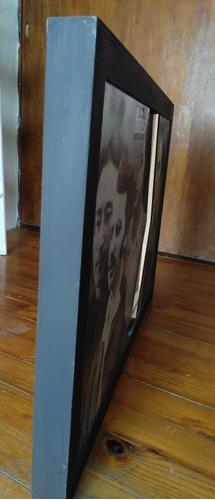 beatles / cuadro de madera con diseño