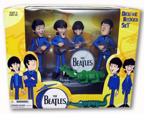 beatles figuras de colección box set