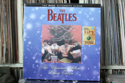 beatles the christmas album deluxe edition box 3 lps 2 cds