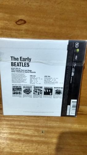 beatles  the early beatles [cd original novo lacrado fabrica