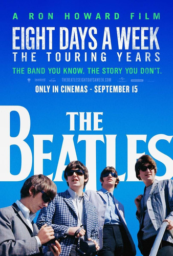 beatles the eight days a week dvd nuevo