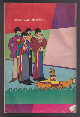 beatles yellow submarine comic en ingles 1968