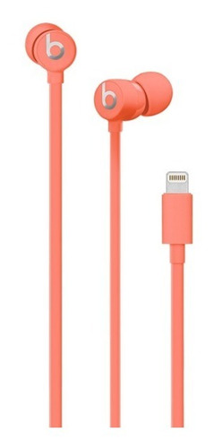 beats audífono in ear urbeats 3 lightning coral