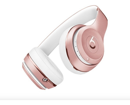 beats audífono solo 3 wireless on ear rose gold  phone store