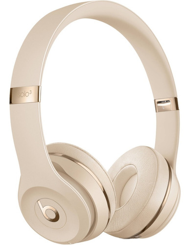 beats audífono solo 3 wireless on ear satin gold phone store