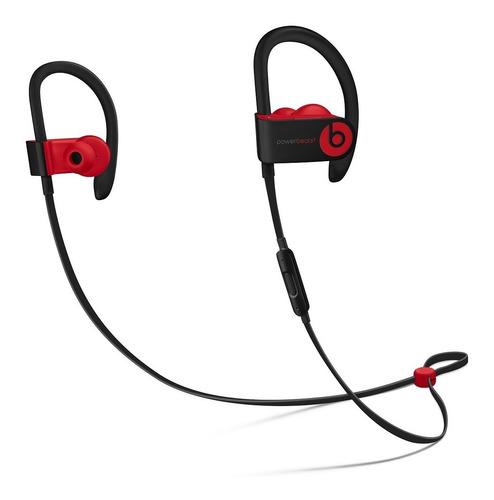 beats audífonos powerbeats 3 bluetooth deport negro / rojo