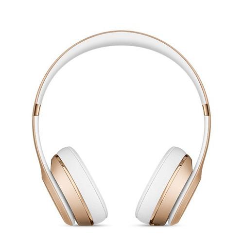beats audífonos solo 3 wireless on ear dorado