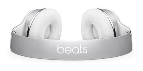 beats audífonos solo 3 wireless silver - phone store