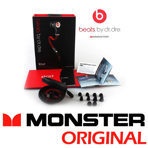 beats by dr dre monster in ear earbuds fone de ouvido
