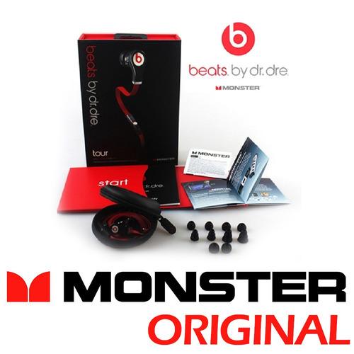 beats by dr. dre tour in-ear in ear monster earbuds fone
