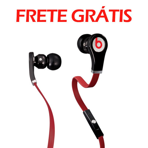 beats headfone fones intra auriculares by dr dre tour