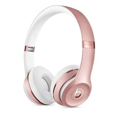 beats solo 3 wireless rose gold