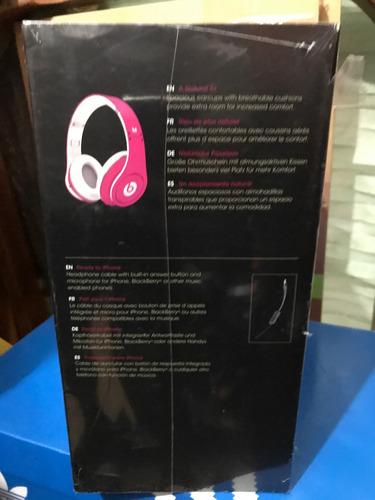 beats studio dr. dre color rosa