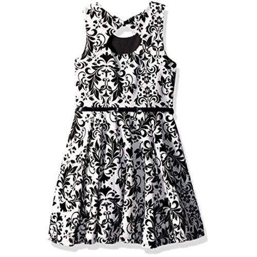 beautees vestido largo y falda ajustada de