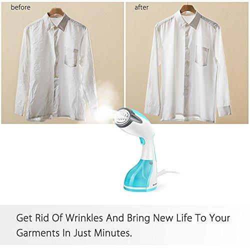 beautural steamer para ropa, potentes vapores portátiles p