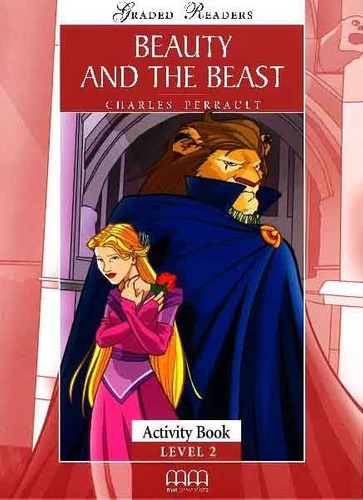 beauty and the beast - graded readers lv 2 activity book  mm