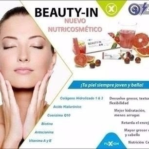 beauty in fuxion colageno antioxidante belleza anti arrugas s 119