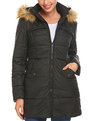 comprar lujo calidad y cantidad asegurada Nueva York Beautytalk Chaqueta Para Mujer Parkas Abrigos De Invierno...