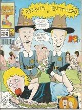 beavis e butt-head ano 2 n.10 - 1994 - editora escala