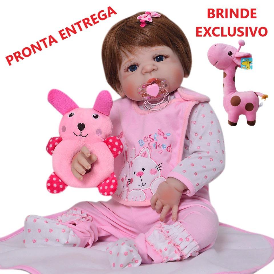 b81734643 bebê boneca reborn corpo inteiro em silicone pronta entrega. Carregando zoom .