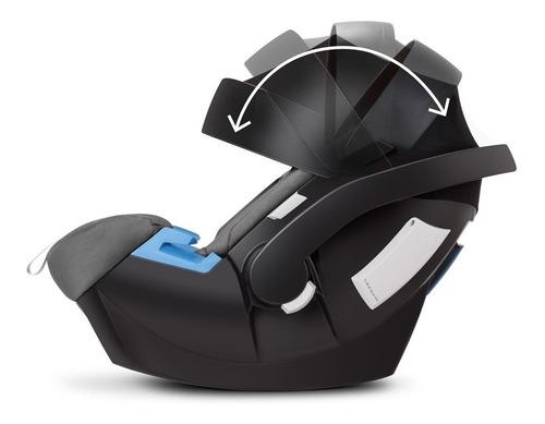 bebê conforto - de 0 a 13 kg - aton 5 - graphite black - cyb