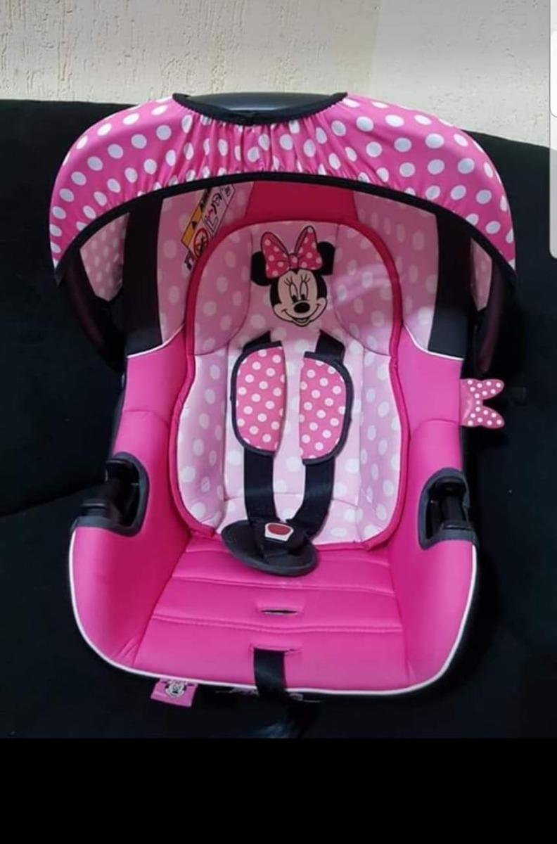bebê conforto disney beone minnie mouse - até 13kg - rosa. Carregando zoom. cb87fe2c889