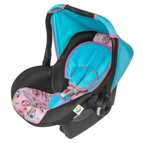 bebê conforto tutti baby supreme até 13 kg - rosa