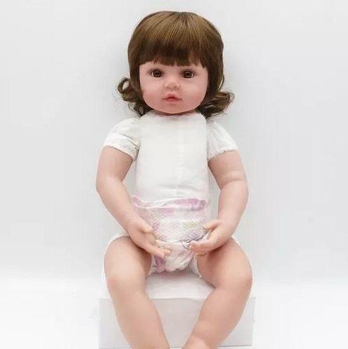 bebê reborn 2019 inclui acessórios 12x s/ juros